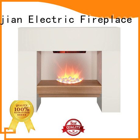 Longjian decor electric fireplace suites freestanding effectively for manager room