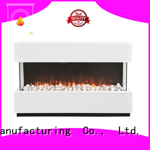 Longjian reasonable electric fireplace suites package for balcony