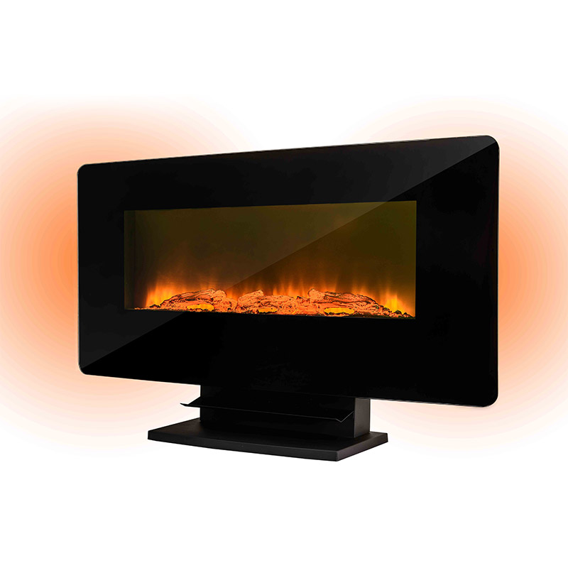 Longjian european wall mount electric fireplace widely-use for riverwalk-1