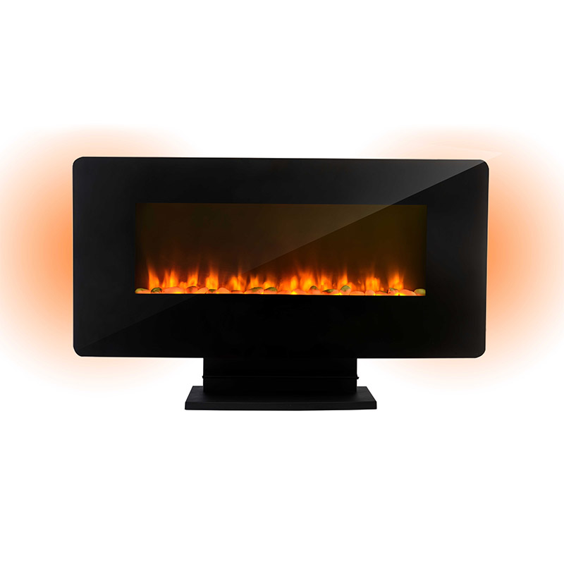 Longjian european wall mount electric fireplace widely-use for riverwalk-2