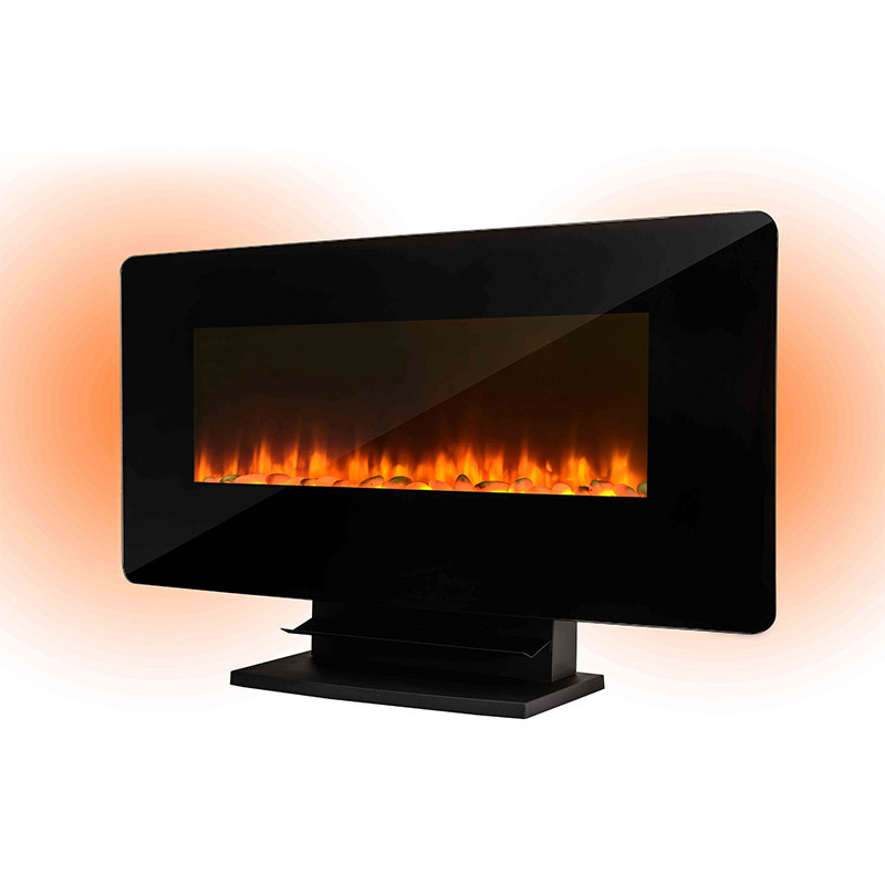 European Style Heater Cheap Decorative Flame Wall-Mounted & Free Standing 2 In 1 Electric Fireplace