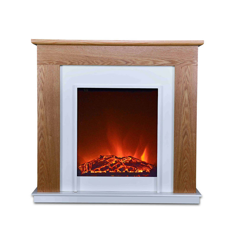 China Manufacturer Freestanding Design Indoor Cabinet LED Light Flame Electric Fireplace Small