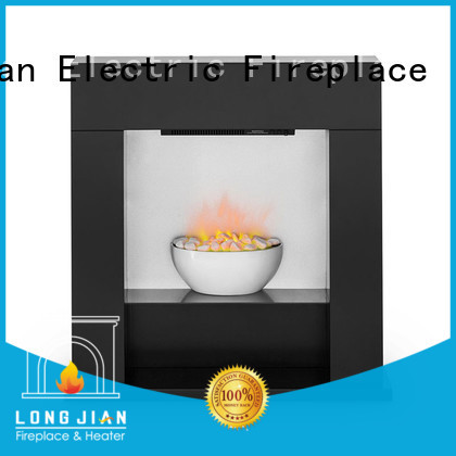 Longjian distinguished electric fireplace suites effectively for manager room