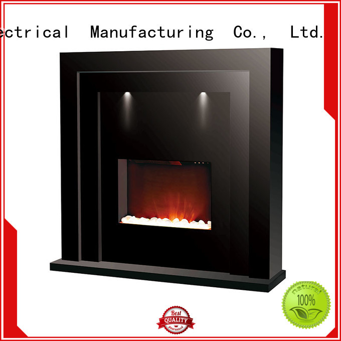 Longjian simple-style fireplace suites effectively for hall way