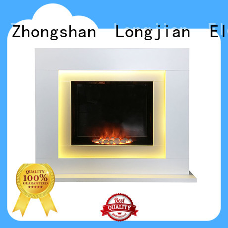 Freestanding Indoor MDF Insert Electric Fireplace Stoves Wood Frame
