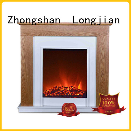 Longjian contemporary electric fireplace suites led-lamp for hall way