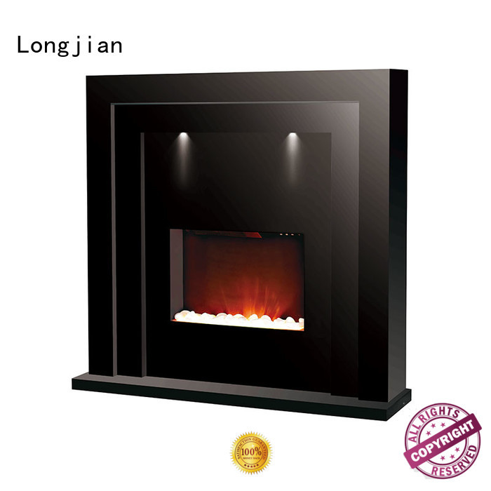 customized modern electric fire suites newest led-lamp for manager room