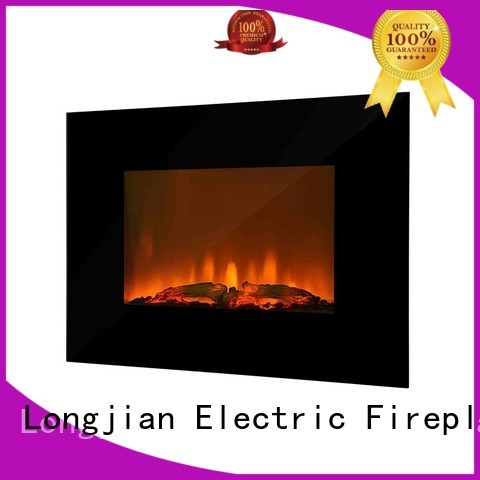 postmodern wall mount electric fireplace heater luxury containerization for balcony