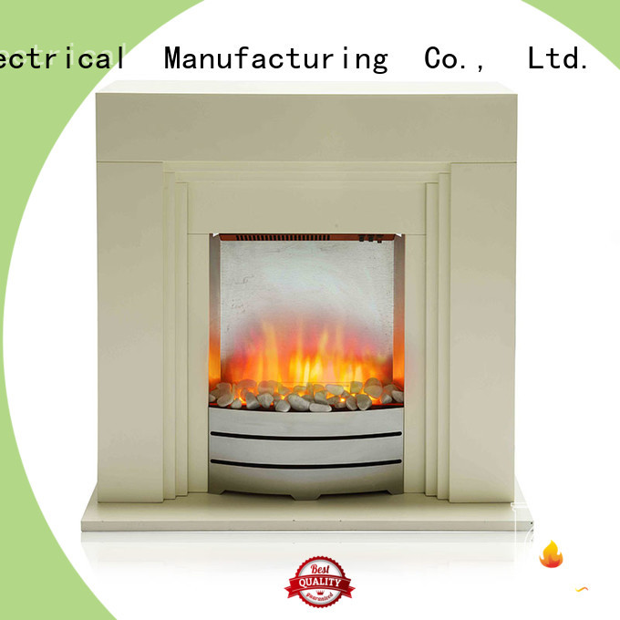 customized Electric Fireplace Suites fireplaces for-sale for balcony