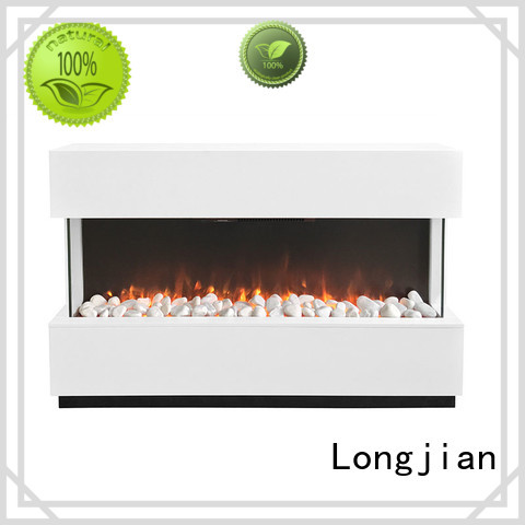 Longjian color modern electric fire suites effectively for garden