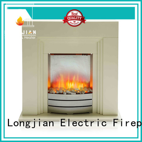 Longjian decorative electric fire suits in-green for hall way