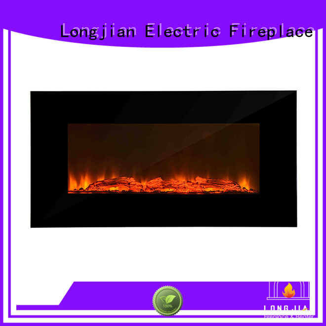 Longjian off wall mount fireplace heater solutions for rooftop