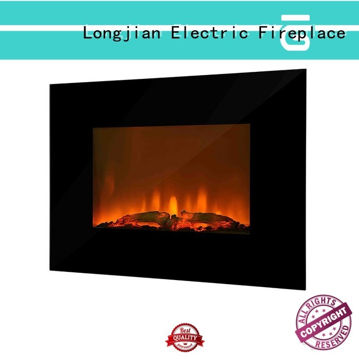 Longjian awesome electric wall fireplace anticipation for rooftop