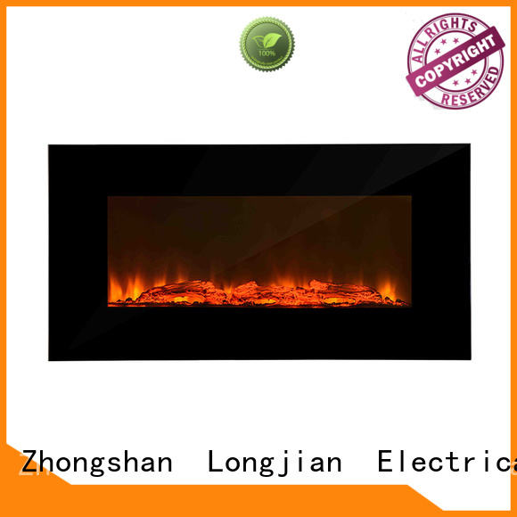 Longjian budgeree modern electric fires wall mounted conjunction for kitchen