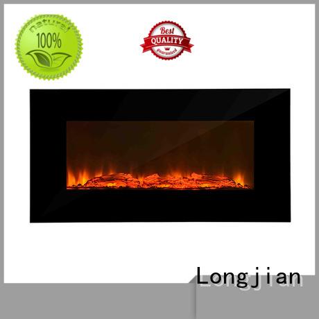 Longjian mounted wall mount fireplace type for shorelines