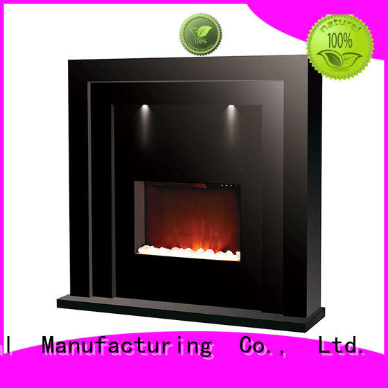 Longjian fireplaces freestanding electric fire suite for-sale for kitchen