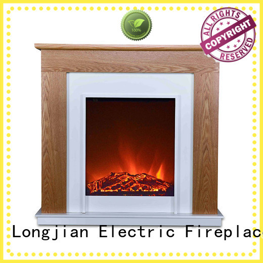 Longjian simple-style fireplace suites Application for study