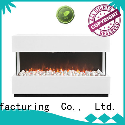 Longjian simple-style electric fireplace suites for-sale for garden