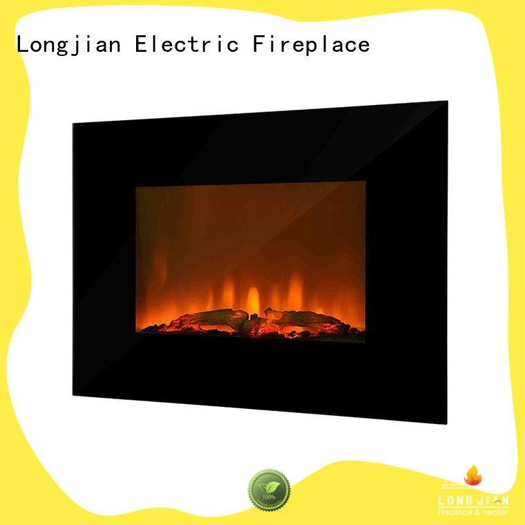 Longjian unique modern electric fires wall mounted production for rooftop