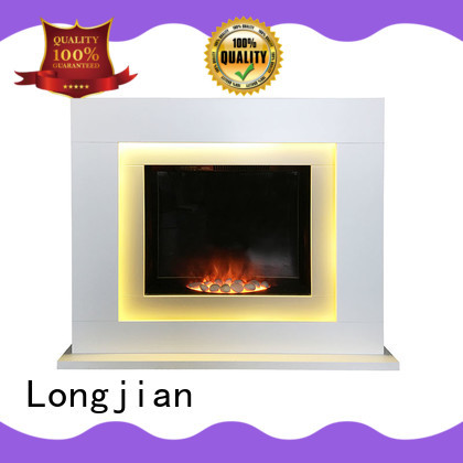 Longjian inexpensive modern electric fire suites package for garden