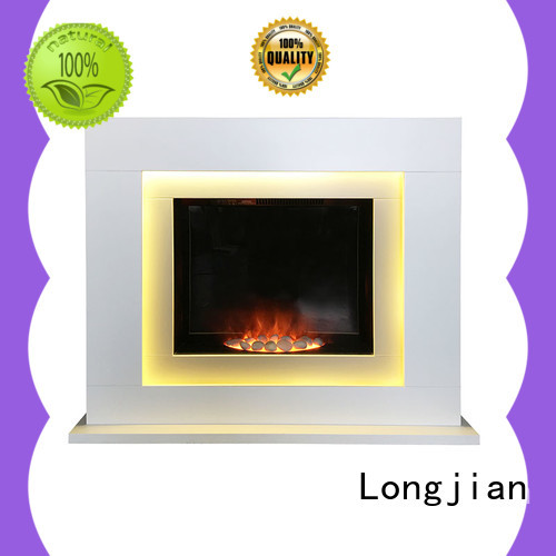 Longjian inexpensive electric fireplace suites Application for study