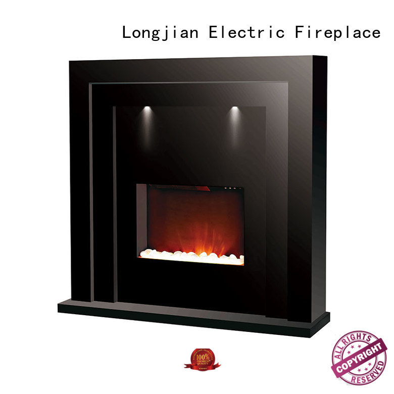 Longjian inexpensive Electric Fireplace Suites effectively for bathroom