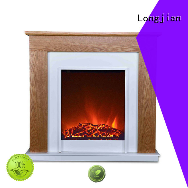 Longjian newest fireplace suites package for hall way