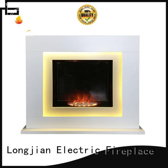 Longjian stone fireplace suites China for cellar