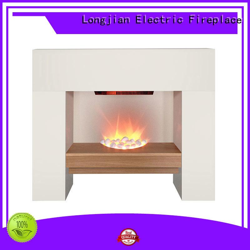Longjian insert fireplace suites package for balcony