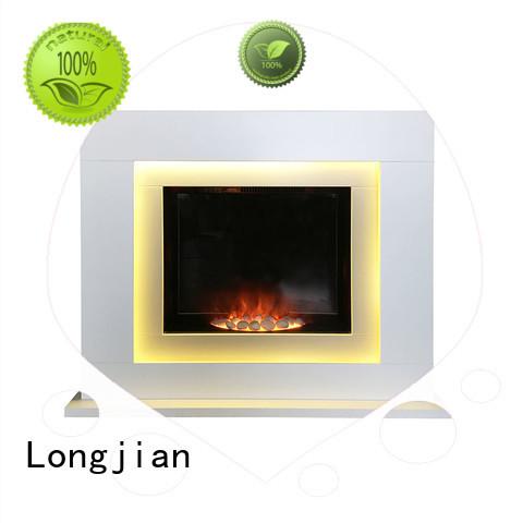 Longjian reasonable electric fire suits China for balcony