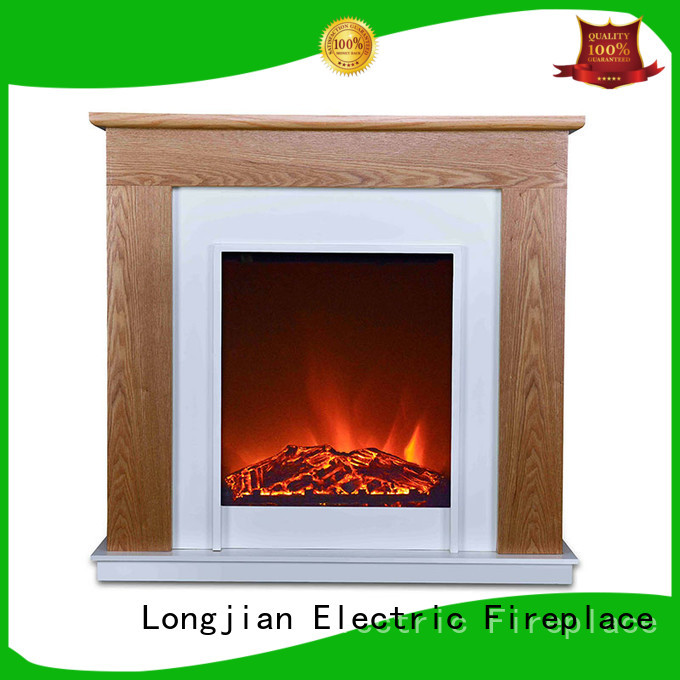 Longjian ljsf4004me electric fireplace suites freestanding China for manager room