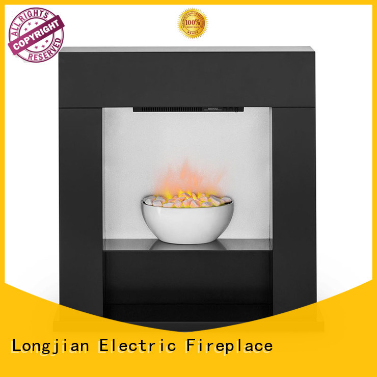 safety modern electric fire suites stone led-lamp for bathroom