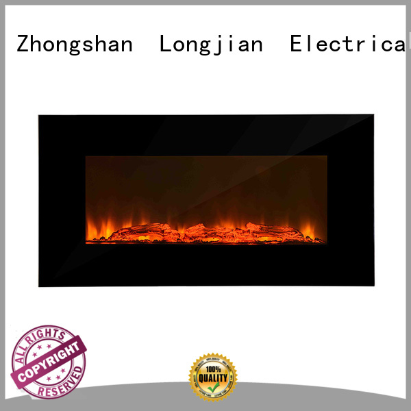 Longjian standing electric wall fires solutions for kitchen