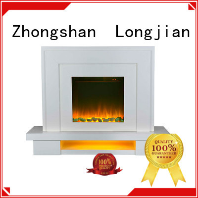 Longjian safety fireplace suites led-lamp for bathroom