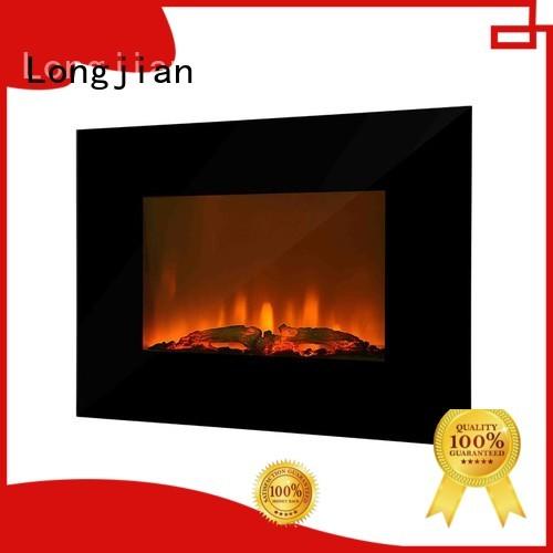 Longjian gradely wall fireplace type for bedroom