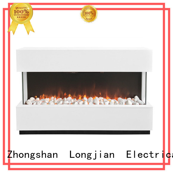 Longjian first-rate freestanding electric fire suite in-green for bathroom