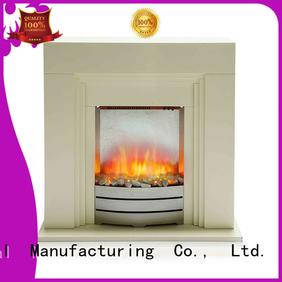 customized Electric Fireplace Suites modern long-term-use for balcony