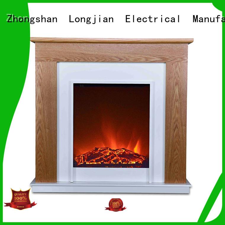 Longjian reasonable freestanding electric fire suite China for kitchen
