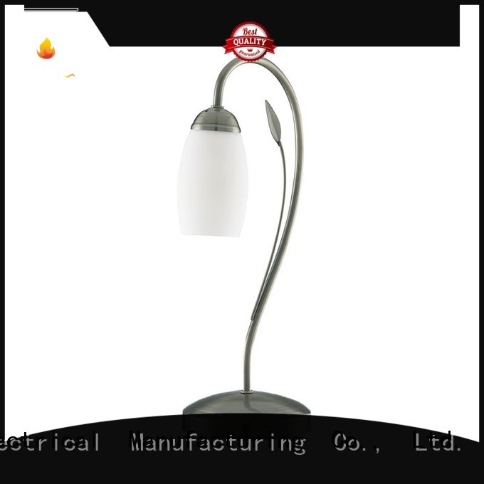 1 light Table Desk Lamps with White Opal Glass shade T0002-1
