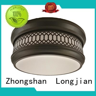 Longjian distinguished semi flush mount ceiling light in-green for arcade
