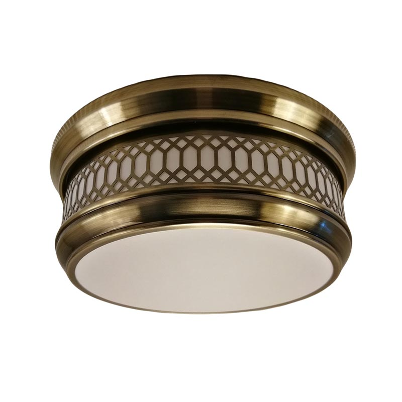 distinguished flush ceiling lights acrylic in-green for bayfront-1
