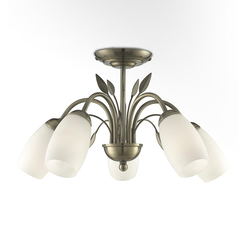 distinguished semi flush mount lighting flush package for rooftop-1