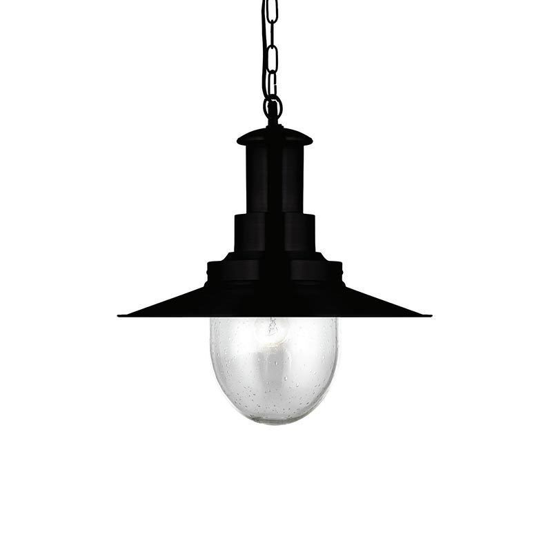 "Diameter φ400mm 16"" 1 light Ceiling Mount Pendant Lights with Clear Seeded Glass shade PD4541-1"