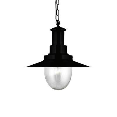 """Diameter φ400mm 16"""" 1 light Ceiling Mount Pendant Lights with Clear Seeded Glass shade PD4541-1"""