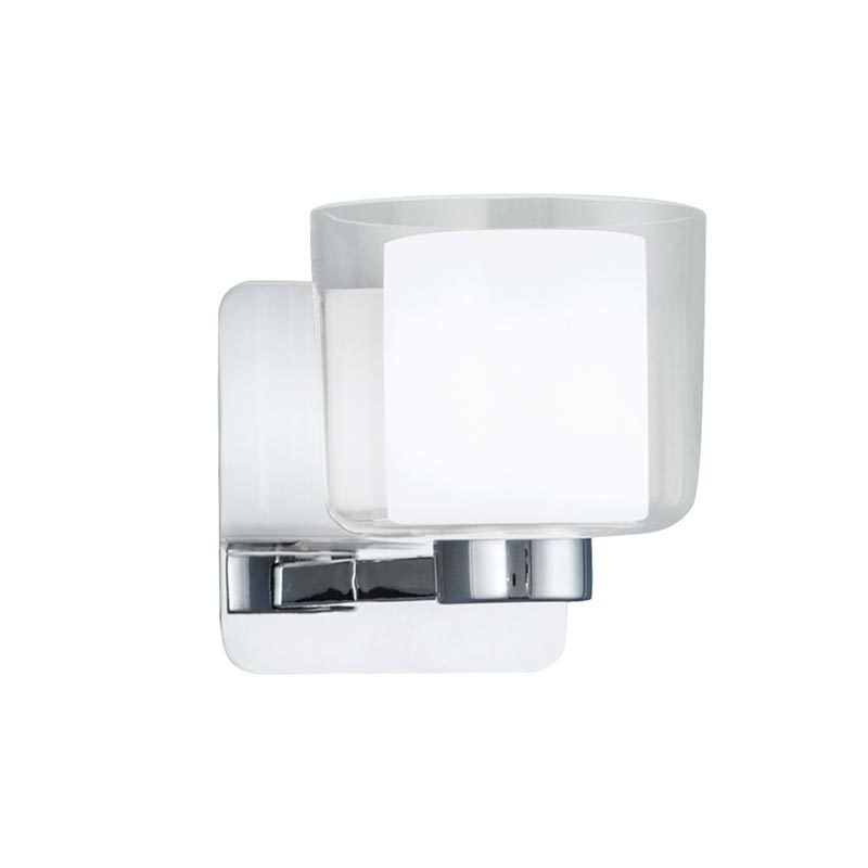 1 light Wall lampsVanity bath Sconcewith Clear Glass shade ip44 BW1906002-1