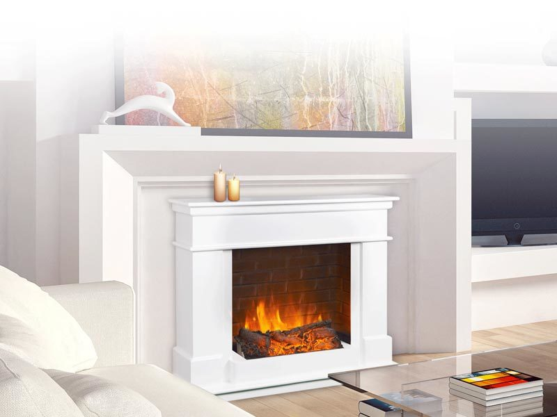 Modern Electric Fireplace VIDEO