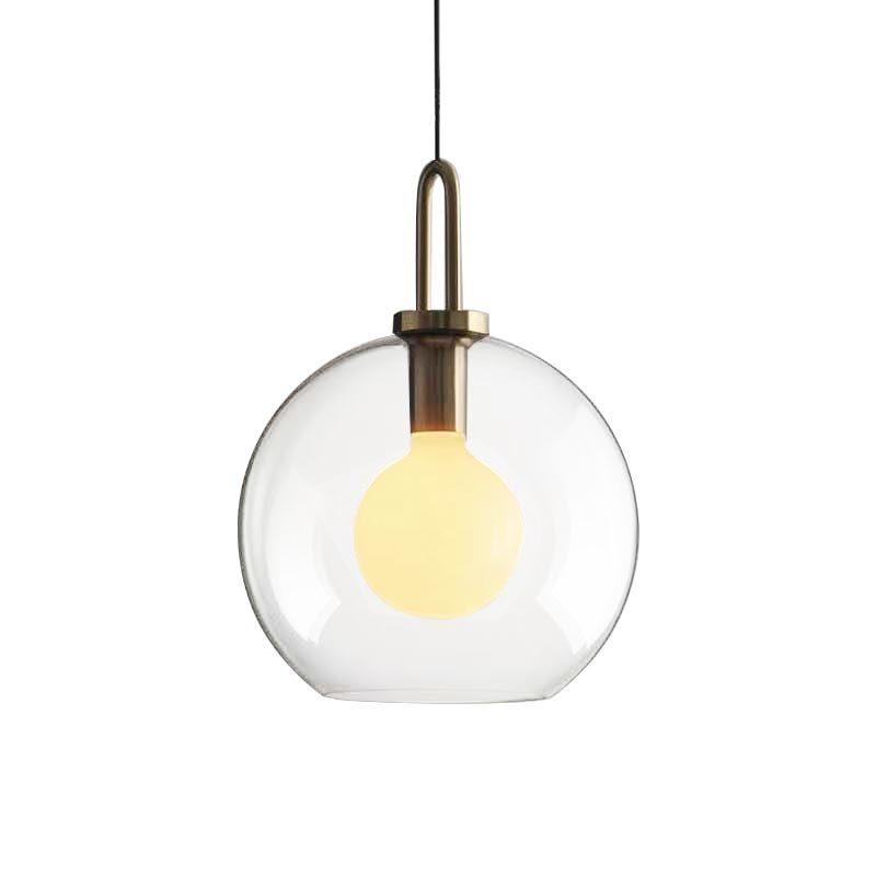 "(Diameter φ300mm 12"" 1 light Ceiling Mount Pendant Lights with Spherical Glass shade)PD1906002"