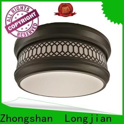 Longjian 350mm semi flush mount lighting sensing for rooftop