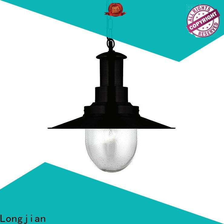 Longjian shade pendant ceiling lights China for garden