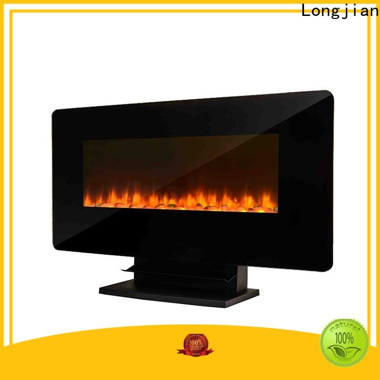 Longjian style modern electric fires wall mounted widely-use for balcony